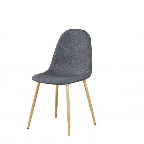 Lot de 4 chaises Yo - gris