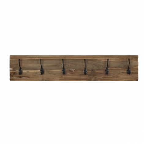 Porte-manteau Railwood - teck