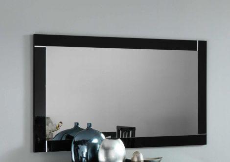 Miroir Modena 180 cm - blanc/noir