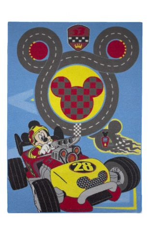 Tapis Mickey - circuit de voitures