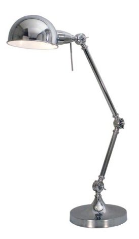 Lampe d'appoint Hubli - nickel - 60w E27