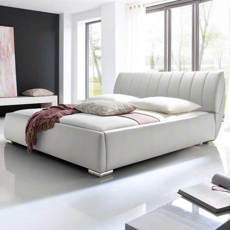 Lit coffre Davos 180x200 - blanc