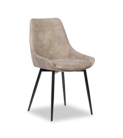 Lot de 2 chaises Mirano - gris