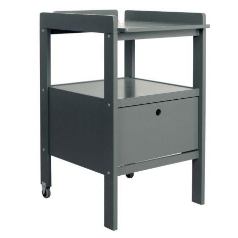 Table à langer Cindy - gris