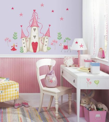 RoomMates stickers muraux - Château de princesse