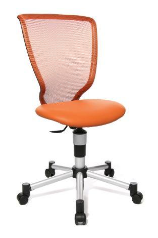 Chaise de bureau pour enfant Titan - orange