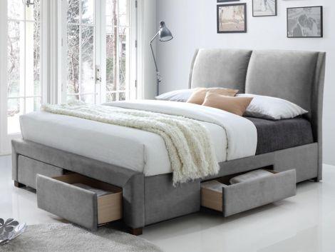 Lit Babano 160x200 - gris