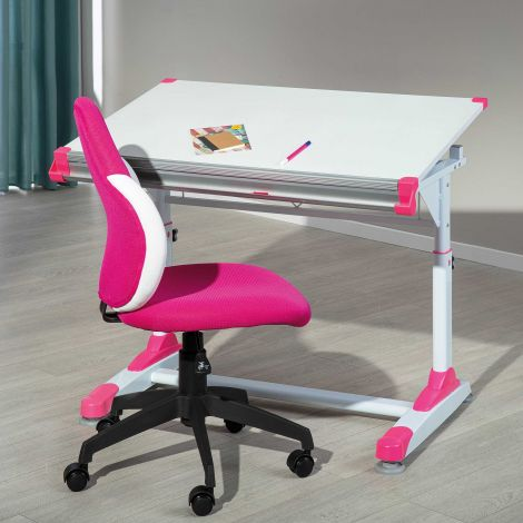 Bureau Tamara vert/rose