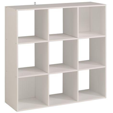 Armoire de rangement Cubicub avec 9 niches - blanc
