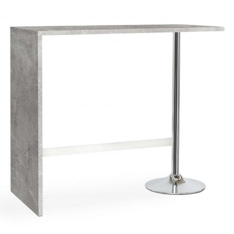 Table de bar Party 120x60 - béton