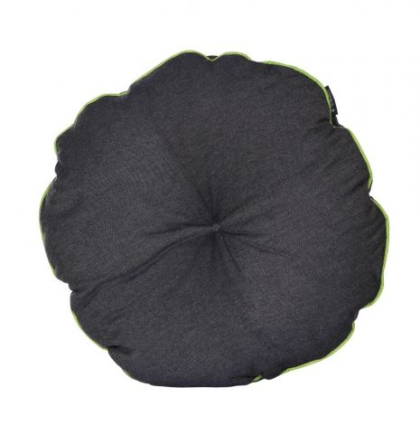 Coussin rond - gris