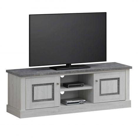 Meuble tv Hannelore 155cm - gris