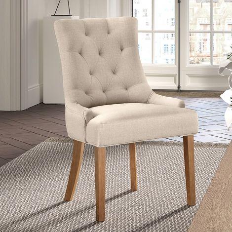 Lot de 2 chaises Anny - sable