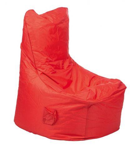 Pouf Confort rouge