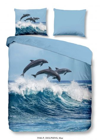 Housse de couette Dolphins 240x220
