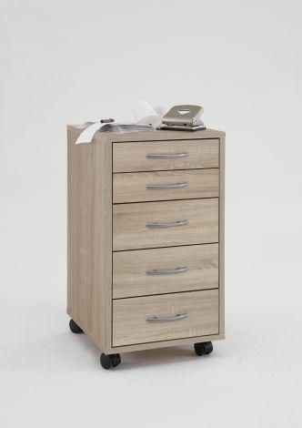 Caisson à tiroirs Till - chêne