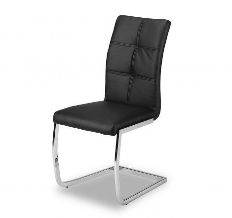 Lot de 2 chaises Eva - noir