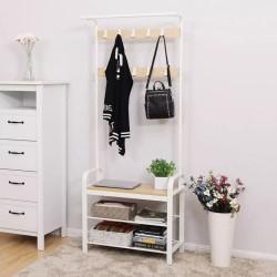 armoire à chaussures avec portemanteau